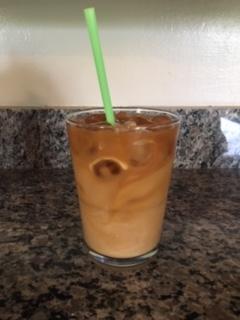 Easy Almond Milk IcedLatte